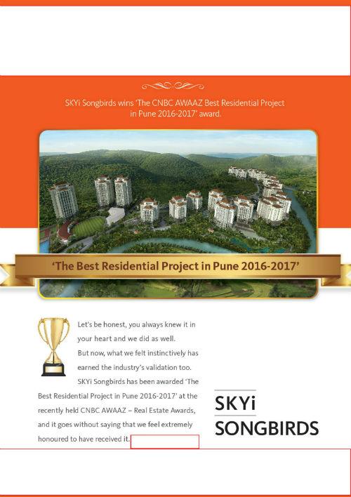 CNBC AWAAZ Best Residential Project